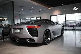 lexus lfa crash matte silver metallic lexus lfa on pur wheels sssupersports com