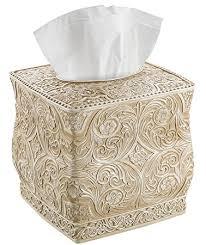 decorative tissue box creative scents square tissue holder decorative