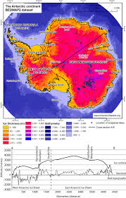 Antarctica World Map by Antarctica Antarcticglaciers Org