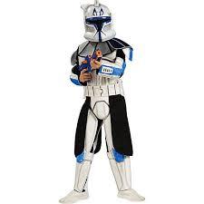 star wars clonetrooper rex deluxe halloween child costume