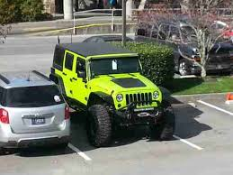 lime green jeep wrangler 2012 for sale sell used 2012 lifted gecko green jeep wrangler unlimited in