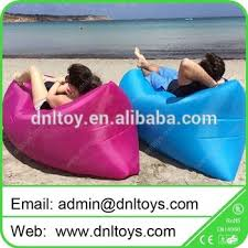 Camping Lounge Chair Outdoor Camping Portable Blow Up Lounge Chair Inflatable Camping