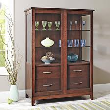 Curio Cabinet Plans Download Sliding Door Curio Cabinet Woodworking Plan From Wood Magazine