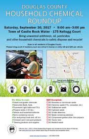 household chemical waste tri county health department official