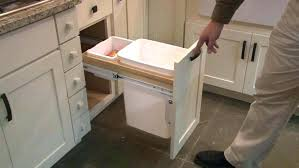 trash cans for kitchen cabinets trash can kitchen cabinet advertisingspace info