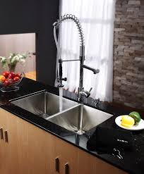 Kitchen Kraus Faucet For A Streamlined Look And Easy Installation - Kraus kitchen sinks reviews