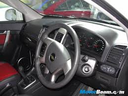 chevrolet captiva interior 2016 gm india launch chevrolet captiva xtreme