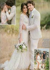 hello wedding dress donna axon on ian somerhalder wedding hello magazine and