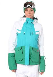 Bench Windbreaker Bench Manik 2 Jacket Snowboard Jacket For Women White Planet