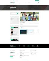 funduz charity crowdfunding u0026 volunteers psd template by