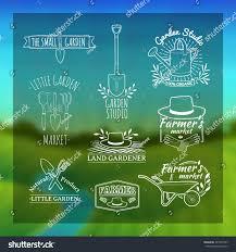 set vintage retro logos badges badges stock vector 281877425