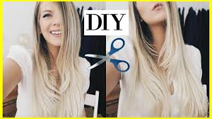 extremehaircut blog how to cut layer your own hair long layers tutorial easy