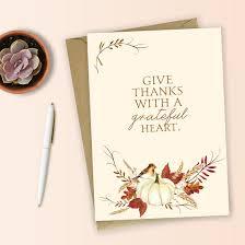 free printable thanksgiving printable card