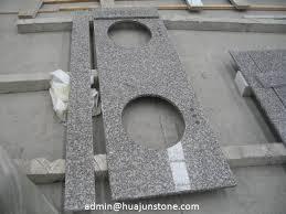 Granite Double Vanity Top Gray Latte Granite Double Sink Vanity Tops
