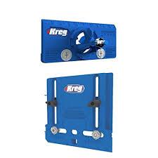 kreg cabinet hardware jig kreg cabinet hardware jig and concealed hinge jig amazon com