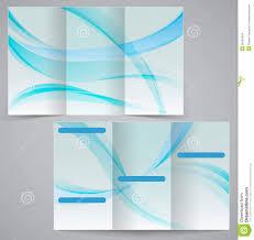 free tri fold business brochure templates tri fold business brochure template vector blue d stock photo