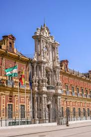 the palace of san telmo is a stunning baroque building