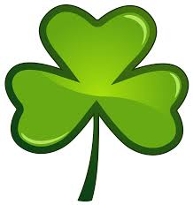 coloring page dazzling shamrock st patrick coloring page