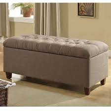perfect ottoman bench with storage lankary dark navy tufted