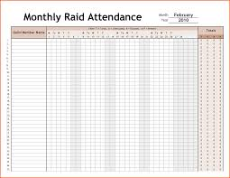 9 attendence sheet survey template words