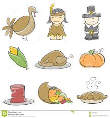 doodle thanksgiving elements stock photo image 16626020