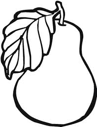 blank fruit coloring pages coloring pages kids