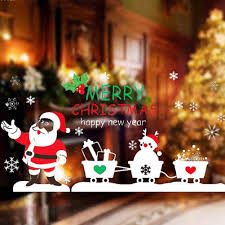 Decorative Window Decals For Home Online Get Cheap Glass Window Christmas Aliexpress Com Alibaba