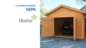Cabanon De Jardin Castorama by Garage En Bois Kemi Blooma 631567 Castorama Youtube