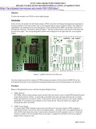 resume format for freshers engineers ecet lab 8 vhdl computer file