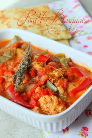 cuisine poulet basquaise poulet basquaise recettes faciles recettes rapides de djouza