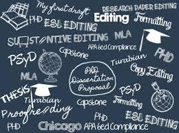 Phd thesis editing   Dissertation statistical service help Enago