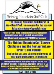 100 shining mountain golf course the mountain jackpot news