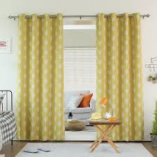 amazon window drapes yellow grommet window curtains home decoration ideas