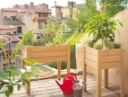 idee deco balcon balcon potager idees decoration