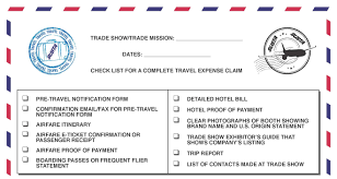 Kentucky traveler checks images Get reimbursed for your international marketing activities jpg