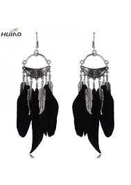 earrings brand feather brand designer fashion earrings for russia on aliexpress