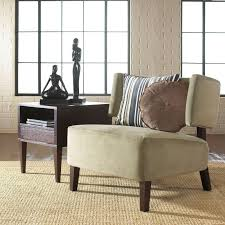 home design sonore solid wood mid century style accent chair