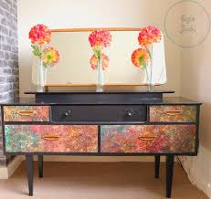 Retro Bedroom Furniture Dressing Table Bedroom Furniture Gplan Retro Vintage Decoupage