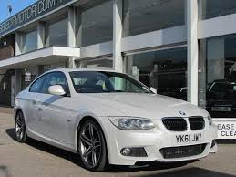 used bmw 3 series uk used bmw 3 series 2011 diesel 320d m sport coupe white edition for