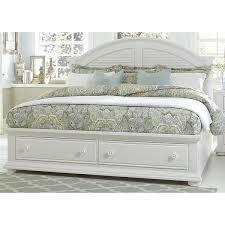 white storage bed avalon white full storage bed alternate image