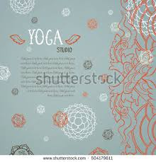 vintage card template mandala ornament crown stock vector