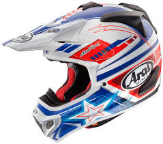 motocross helmets fox arai 2016 vx pro4 patriot red white blue helmet mxstore picks