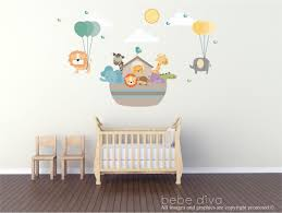 Baby Wall Decals For Nursery by Noah U0027s Ark Wall Decal Wall Decals Nursery Wall Decal