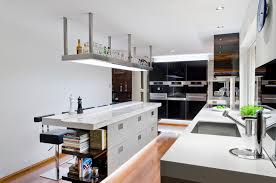 Overhead Kitchen Lights by Overhead Kitchen Lighting With Minimal Kitchen Modern And Safe Teapots