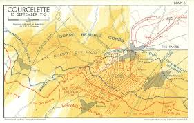 Ottawa Canada Map by Brickfields U201d And Death The Battle Of Fler Courcelette The Somme