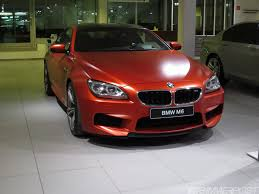 matte red bmw individual m6 6 series gran coupe frozen red frozen brilliant