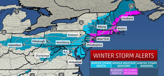 The Biggest Blizzard Emss Batten Down The Hatches New York And New Jersey Biggest