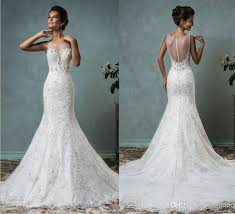 wedding dress lace wedding dress 2016 new arrival amelia sposa mermaid lace