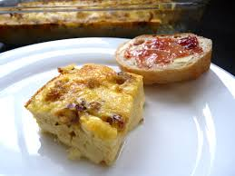 easy brunch egg cheese and sausage strata chinese grandma