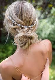 boho hair wrap boho bridal hair chain pearl wedding hair wrap idealpin